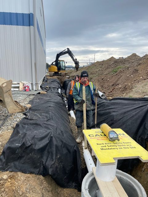 Arrowsmith search and rescue excavation