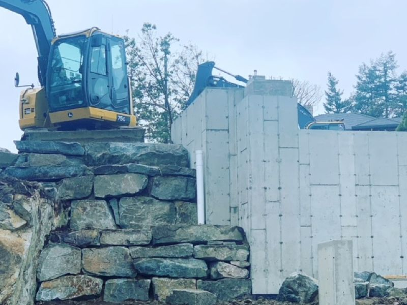 building wall construction
