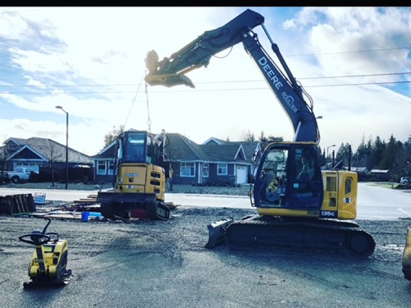 construction equipment residential