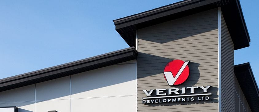 Verity Office Sign