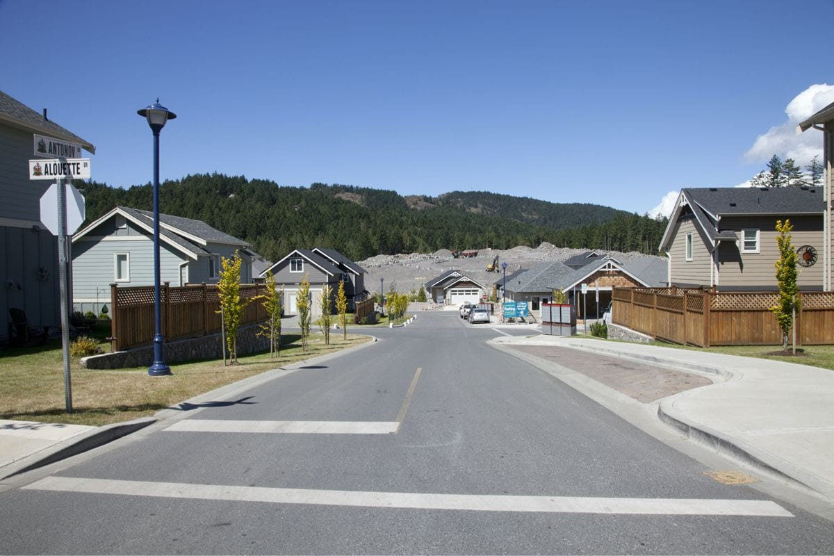 Westhills Residential Construction Project Street View